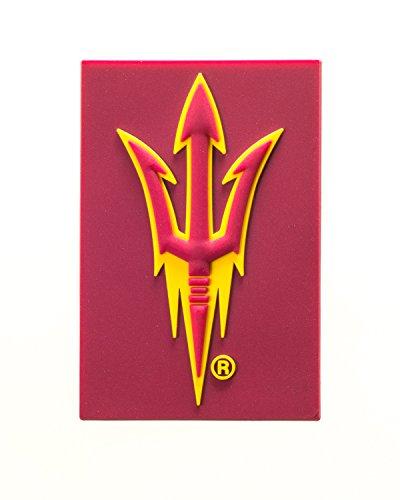 (Collegiate Pulse Arizona State Sun Devils NCAA PVC Fridge Magnet)