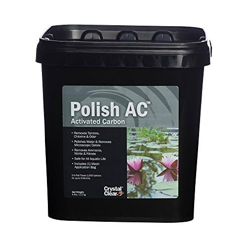 CrystalClear Polish AC, Activated Carbon, 5 lbs by CrystalClear
