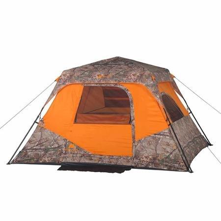 Ozark Trail x REALTREE Xtra 6-Person Instant Cabin Tent
