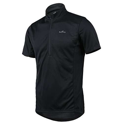 4ucycling Short Sleeve Quick Dry Bike Jersey -...