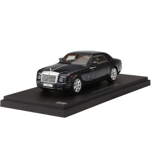 Kyosho 1:43 Rolls Royce Phantom Coupe Darkest Collectible Model