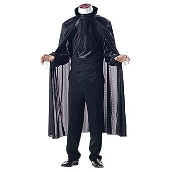 California Costumes Men's Headless Horseman Costume,Black,Large