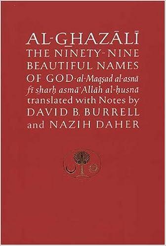 Al-Ghazali on the Ninety-nine Beautiful Names of God (Ghazali Series