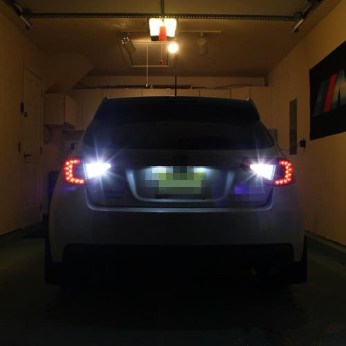 Paquete de 2 FEZZ Coche LED Bombillas T15 7020 22SMD W16W 921//912 Canbus para Luces de reversa luz trasera Blanco