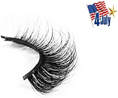 feea25ec0c4 Amazon.com : Lucine lashes 100% Mink 3D False Eyelashes, Cruelty Free,  Premium Quality Reusable Lashes - Vivienne : Beauty