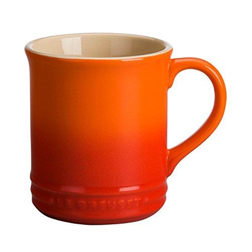 (Le Creuset Stoneware 12-Ounce Mug, Flame)