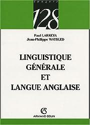 Linguistique générale et langue anglaise