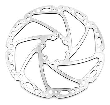 Tektro Lyra 160mm Disc Brake Rotor BIKE OEM PACKAGE SILVER