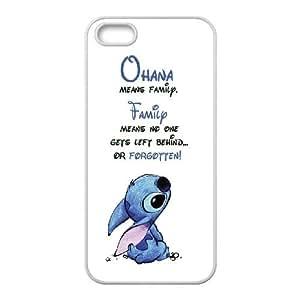 Lilo And Stitch Series Case For Iphone 4 4S case cover SHIKAI5U1715637