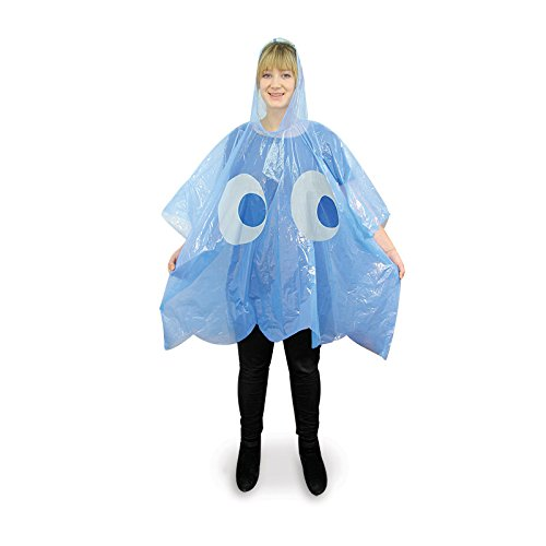 PacMan Inky and Blinky Ghost Rain Ponchos
