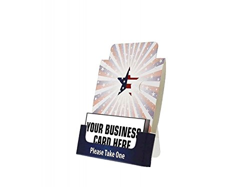 Distribute Business Cards - Marketig Holders Business Card Promotional Holders for Bulletin/Cork Boards 12 Pack