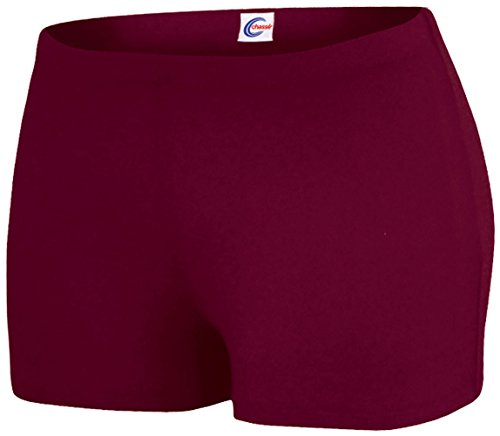 Boy-Cut Briefs Maroon Small