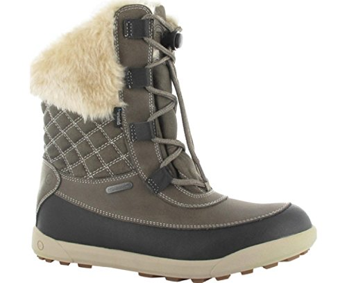 Hi-Tec Women's Winter Lace up Snow Boot Dubois 200 IWP Brown