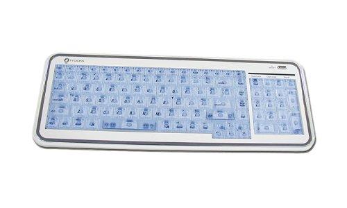 (USB Irocks X Slim Illuminated El Keyboard for)