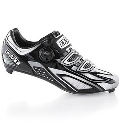 DMT Hydra Zapatillas de Carretera, color negro/blanco/plateado–EU 43,5