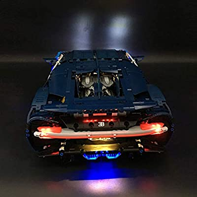 PeleusTech LED Light Kit for Lego Bugatti 42083 - LED Included Only, No Lego Kit: Toys & Games