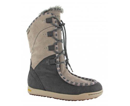 Hi Tec Sierra Sonomi 200 WP W` HTO002050 - Botas fashion de cuero nobuck para mujer 39 EU