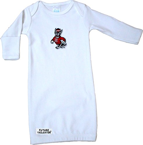 Future Tailgater NC State Wolfpack Baby Layette Gown