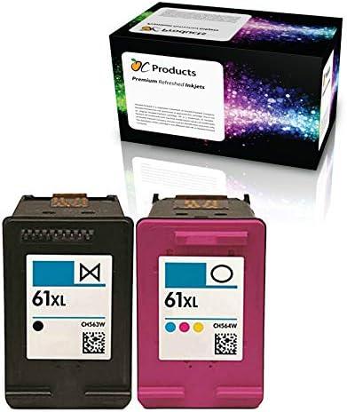 ocproducts refilled HP 61 X L Cartucho de Tinta de Repuesto para ...