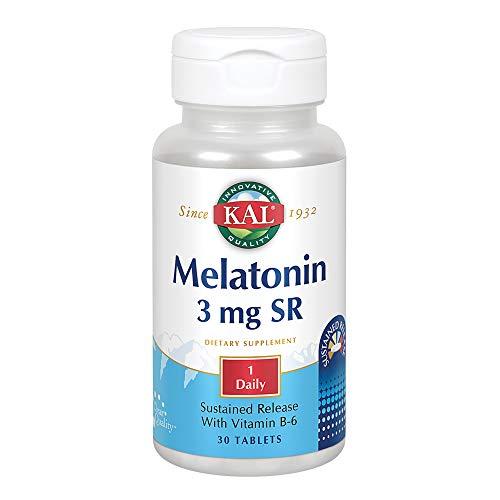 Melatonin 3mg Sustained Release Kal 30 Tabs