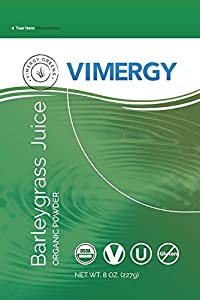 Vimergy Organic Barleygrass Juice Powder (8oz)