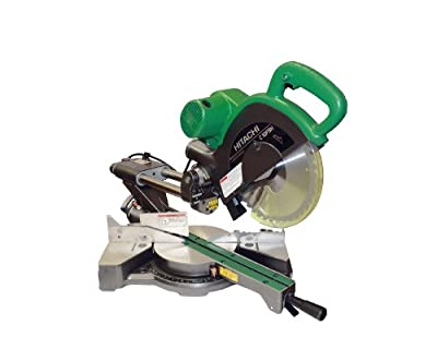 Hitachi 12-Amp 10-Inch Sliding Dual Compound Miter Saw