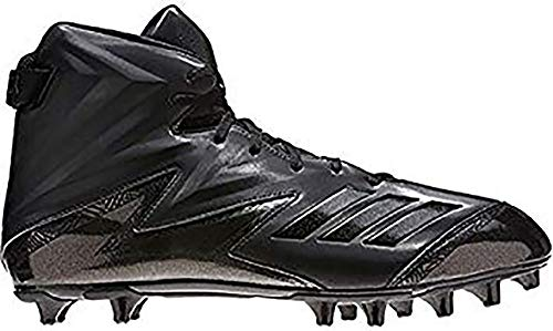 Adidas Black Football Cleat - adidas Freak High Wide (2E) Cleat Mens Football 13 Black-Black-Black