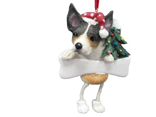 Rat Terrier Ornament with Unique
