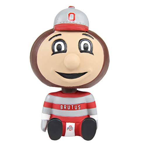 Forever Collectibles Brutus Buckeye Ohio State Mini Baby Bro Bobblehead NCAA