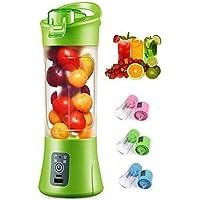 Angel Enterprise Plastic Portable USB Electric Blender Juice Cup(Multicolour)