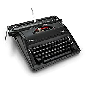 royal epoch portable manual typewriter. Black Bedroom Furniture Sets. Home Design Ideas