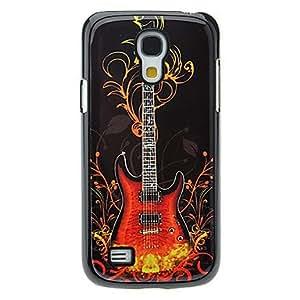 CL - Patrón caso duro de aluminio Guitarra Moda para Samsung Galaxy S4 Mini I9190