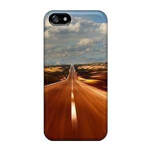 Cute Appearance Cover/tpu LRAxaec6436xqthG Empty Road Case For Iphone 5/5s Kimberly Kurzendoerfer