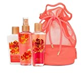 Cheap Victoria's Secret Take Me Away Travel Essentials (Coral, Passion Struck)