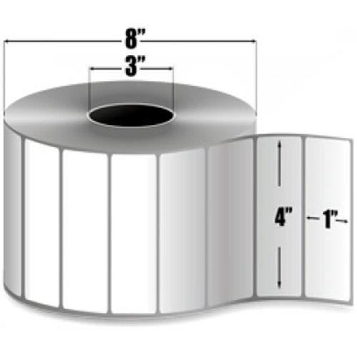 Intermec E06724 Duratran II Top Coating Label, Thermal Transfer, Perforated, 4