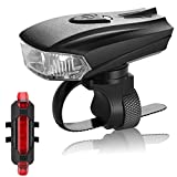 Mountain Bike Light LED Lighting Accessories USB Charging, 1800 Lumens Headlights and Taillights