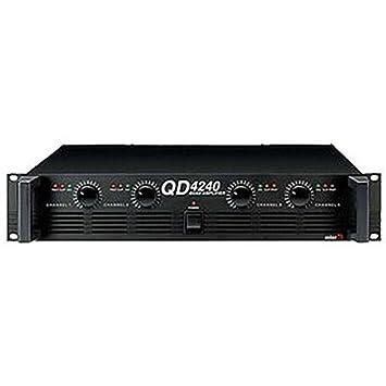 qd-4240 Amplificadores Amplificador de Potencia de 4 canales de audio y vídeo, qd-4240 4 canales Amplificador de Potencia: Amazon.es: Electrónica