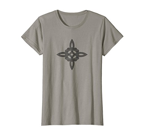 Knot Witches - Womens Witch Knot Symbol 4 Elements Wicca Mystic Magic Gothic Shirt