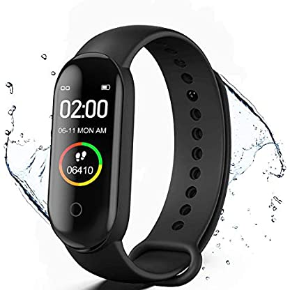 Activity Tracker, Fitness Tracker with Heart Rate Monitor,5ATM Water Resistance HD Touch Screen Smart Watch,Sleep… 1