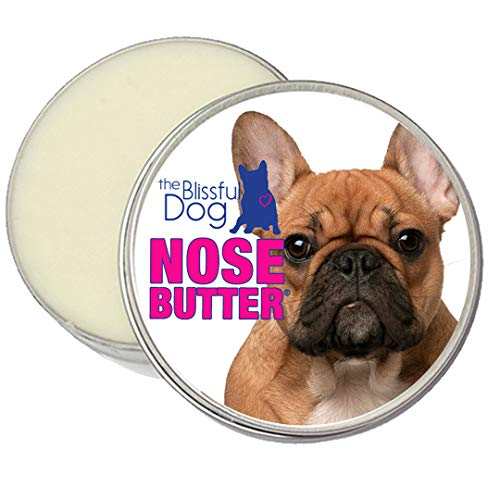 The Blissful Dog French Bulldog Black Masked Fawn Unscented Nose Butter - Dog Nose Butter, 2 Ounce