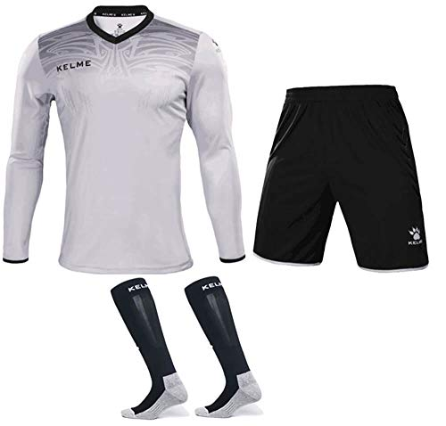 d8576e3bab8 KELME Goalkeeper Jersey Uniform Bundle - Set Includes Goalkeeper Shirt