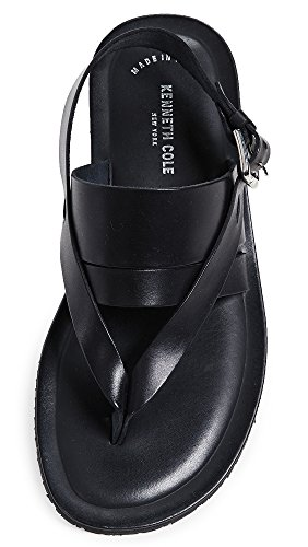 Kenneth Cole New York Men's Reel-ist Flat Sandal, Black, 8 M US by Kenneth Cole New York (Image #3)