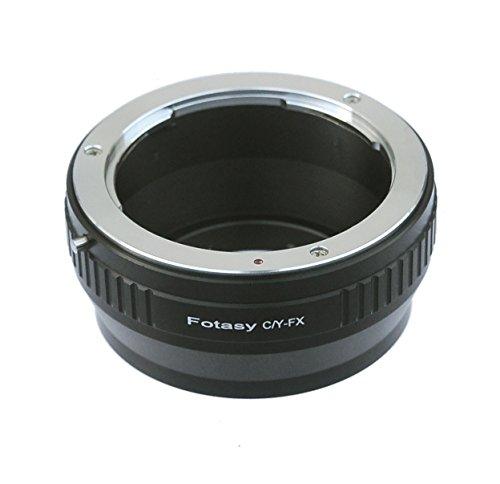 Fotasy C/Y Contax/Yashica Lens to Fujifilm X-Mount Camera X-Pro1 X-Pro2 X-E1 X-E2 X-E2S X-M1 X-A1 X-A2 X-A3 X-A10 X-M1 X-T1 X-T2 X-T10 X-T20 Adapter