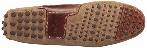Donald J Pliner Heren Riel Slip-on Loafer Zand / Bruin Suède