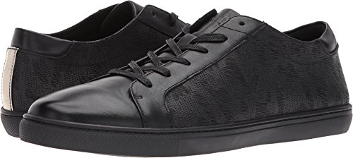 Kenneth Cole New York Men's Kam Shoe, Black Fabric, 10.5 M (Leather Casual Low Black Shoe)