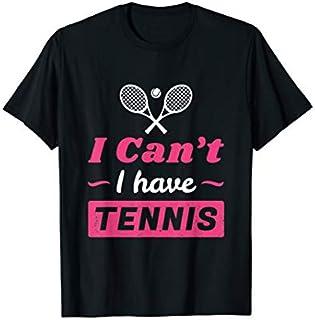 ⭐️⭐️⭐️ Girls Tennis , I Can't I have Tennis Funny Tennis Need Funny Short/Long Sleeve Shirt/Hoodie