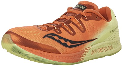 Saucony Freedom ISO, Scarpe da Fitness Uomo Orange/Citron