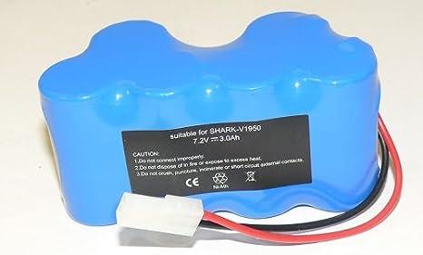 Ni-MH 7.2V 3800mAh Kastar V1950 Battery Replacement for Euro-Pro Shark Vacuum V1950 VX3 Replacing XB1918 1 Pack
