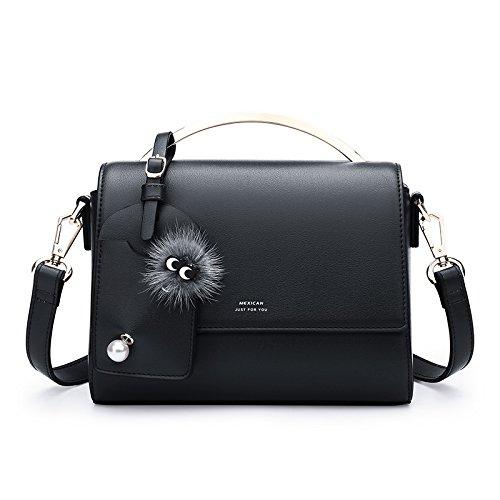 bandoulière sac mode noir la LEODIKA personnalisé Black à Sac version Femme main unique sac petit à main Sac coréenne version à nouvelle sac 6fqxP8qE1w