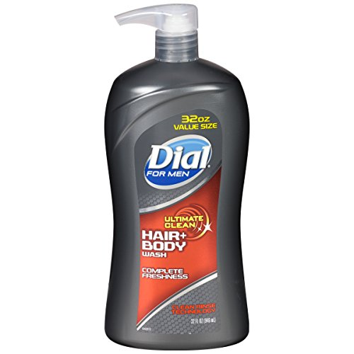 Dial for Men Hair + Body Wash, Ultimate Clean, 32 Fluid -